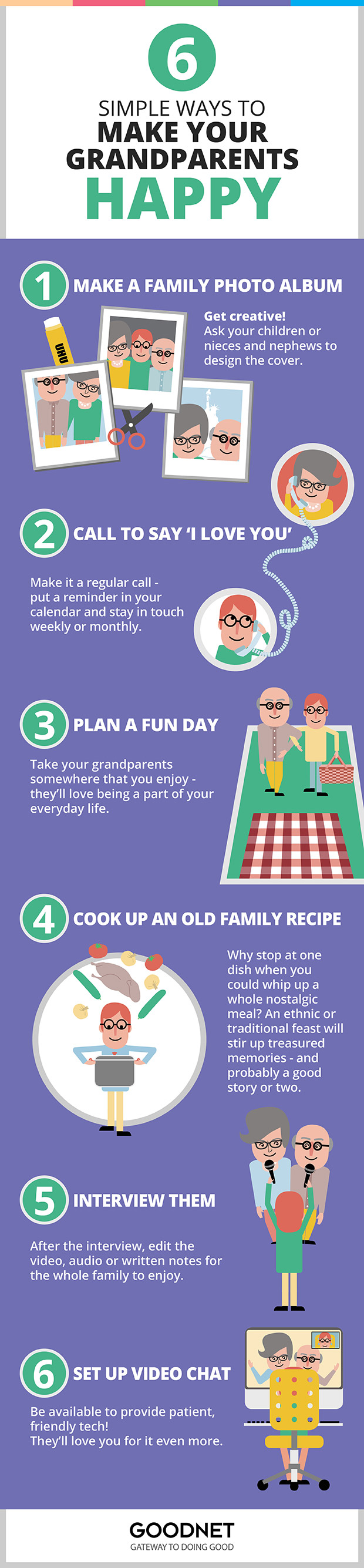 6 Simple Ways to Make Your Grandparents Happy