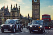 The New Metrocab cruises around London