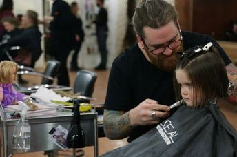 Emily James donates hair as act of generosity