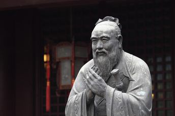 Confucius was one of the great Chinese thinkers who shaped the country's to this day (Shutterstock)