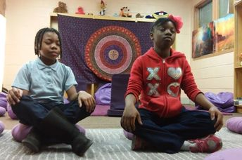 Instead of detention, these kids receive the tools to handle conflict with teachers and peers. (Holistic Life Foundation)