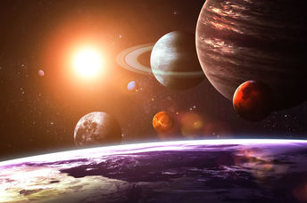 Even just the planets in our solar system are millions of kilometers away from our home. (Shutterstock)
