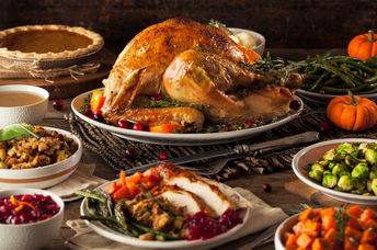 An abundant Thanksgiving meal doesn't need to be wasteful. (Shutterstock)