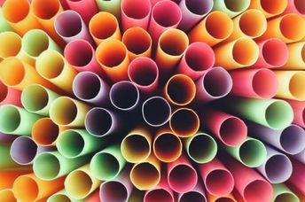 Plastic straws are fun for kids but definitely not eco-friendly.