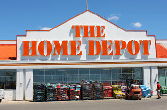 The Home Depot store entrance on July 24, 2013 in Etobicoke, Ontario, Canada.