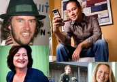A collage of Goodnet's 5 inspirational CEOs