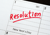 January 1 New Year's resolution