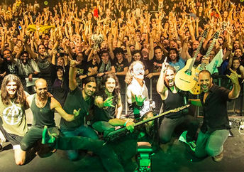 Orphaned Land and Khalas perform together in Tel Aviv, 2013