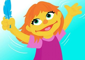 Julia is the new autistic muppet on Sesame Street