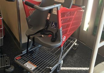 Target's new shopping cart for kids with special needs