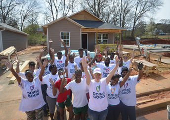 Building a home for the needy in Georgia, USA (Good Deeds Day)