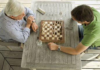 One of the best two player games is chess