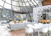 Inside the Eiffel Tower pop up apartment