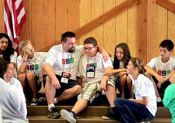 Kids learn how to deal with grief in a positive way, while making friends for life. (Comfort Zone Camp)