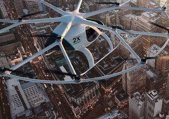 The World's First Self-Flying Taxi Has Lifted off in Dubai