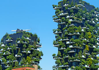 Vertical forest of Milan, the