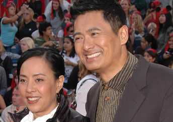 Chow Yun-Fat and wife Jasmine at the World Premiere of