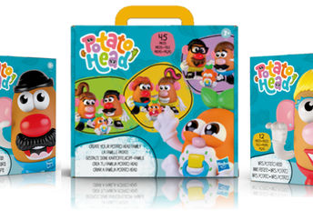 The new rebranded Potato Head Kits.