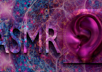 Image illustrating the healing sounds of ASMR