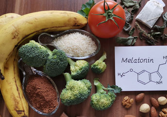 These foods contain melatonin.