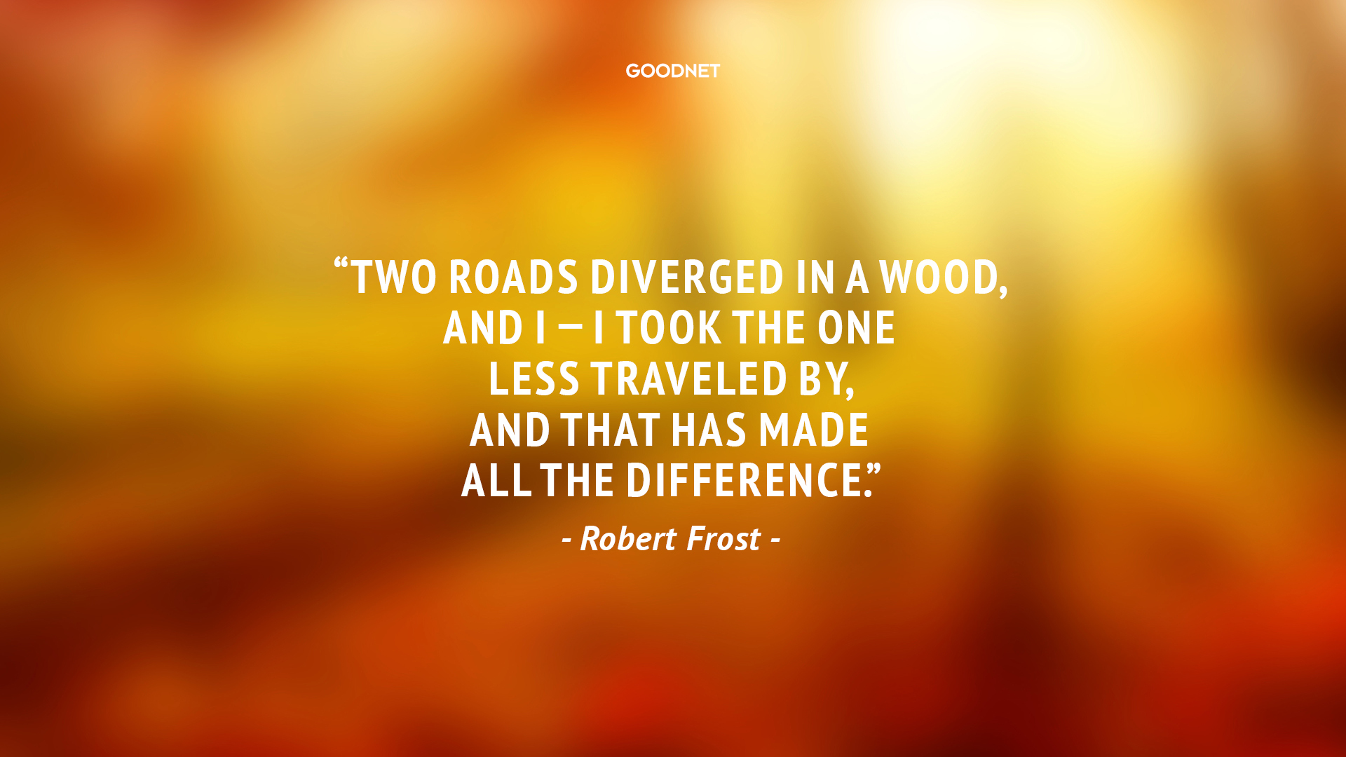 an analysis of two roads diverging in a yellow wood
