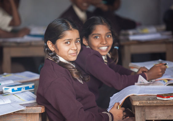 Proper education is a rare luxury for most people in rural India. (Eagle9 / Shutterstock, Inc.)