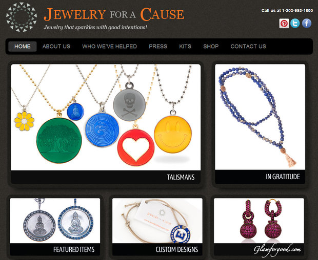 Image Screenshot Of Jewelry For A Cause