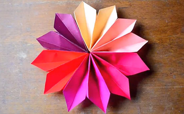2 IN 1 ORIGAMI SPECIAL - How to Fold an Origami Rose from a Cube ... | 384x620