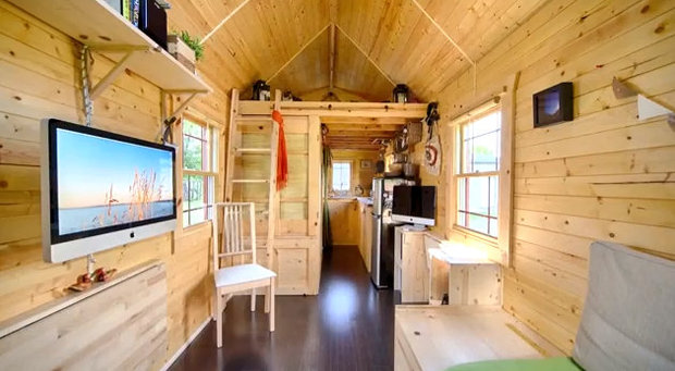 Podwieszanie p ki na sta e domki drewniane - Minibar in legno per casa ...