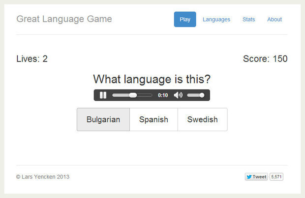 Games To Challenge How Well You Know The World LIST Goodnet - List of languages around the world