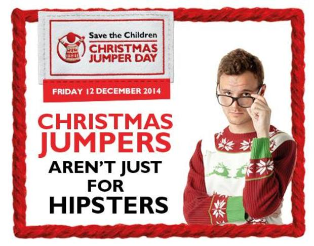 Promoting Christmas Jumpers Day