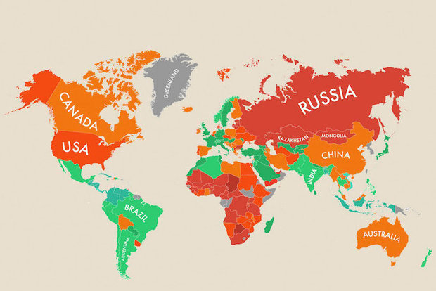 A Map of Happiness Around the World [INFOGRAPHIC] - Goodnet