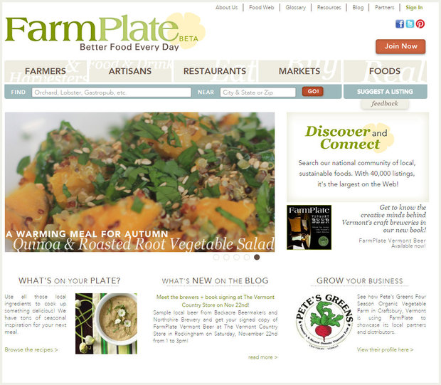 Screenshot of Farmplate