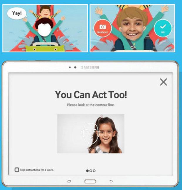 Samsung's LOOK AT ME app