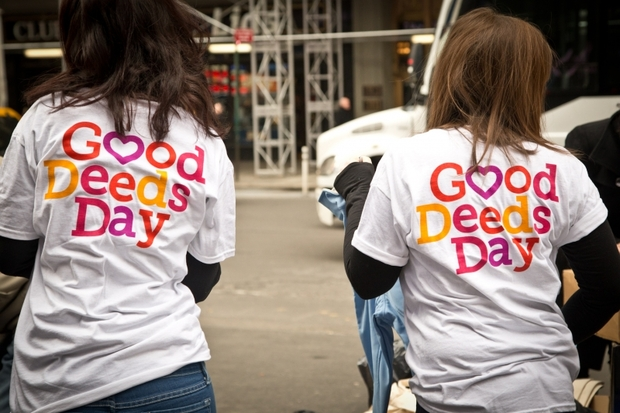 Good Deeds Day tshirts 2014