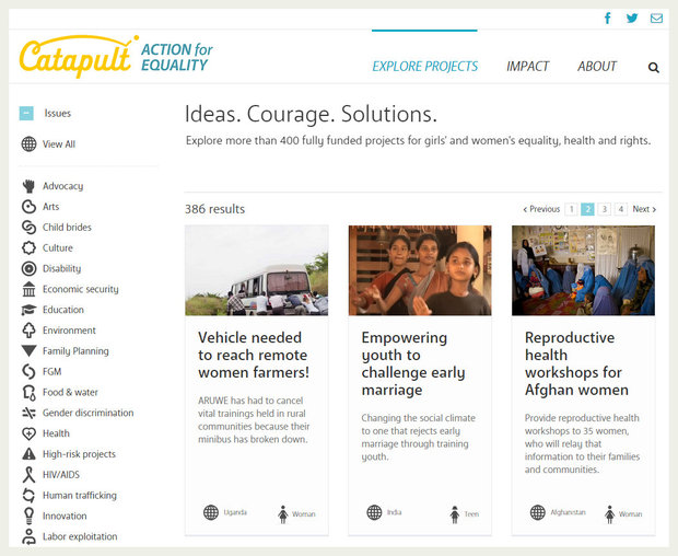Catapult crowdfunding site