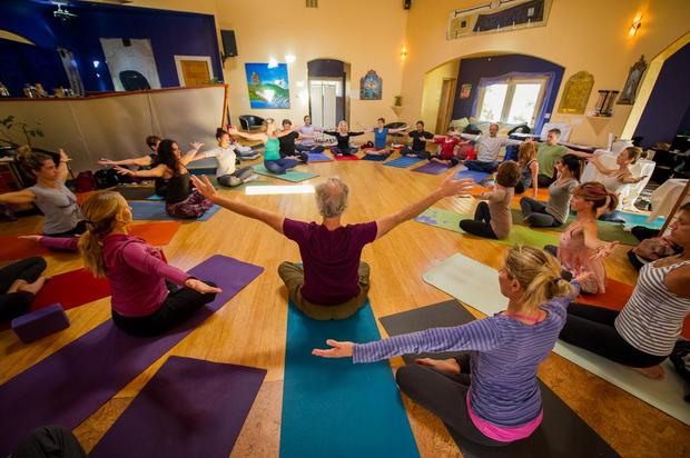 A Give Back Yoga Foundation donation-based class