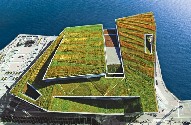 5 Impressive Green Roofs From Across The Globe Goodnet