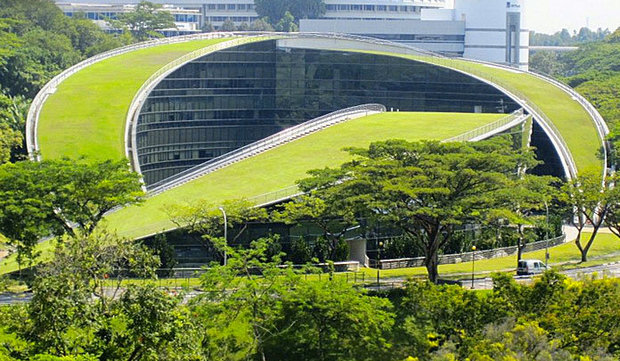 5 impressive green roofs from across the globe goodnet for Top sustainable architecture firms