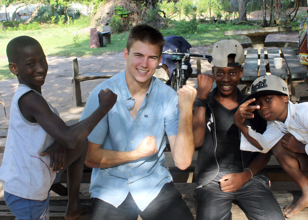 Lucid co-founder Mark Reininga on his first trip to Africa