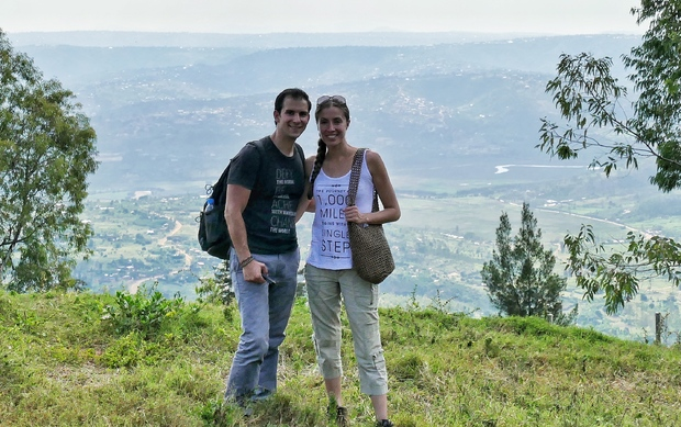 Maria and Anthony Russo, during their travels to Rwanda