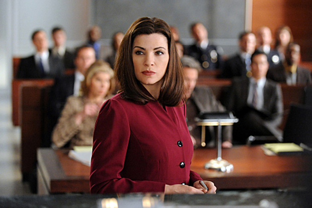 Alica Florrick rocking it in the courtroom