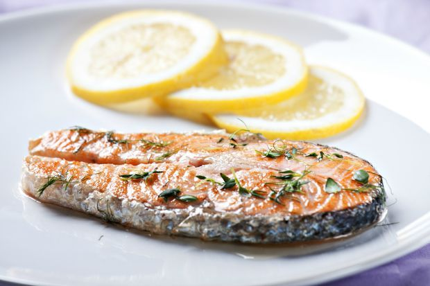 Salmon is a mood-boosting food