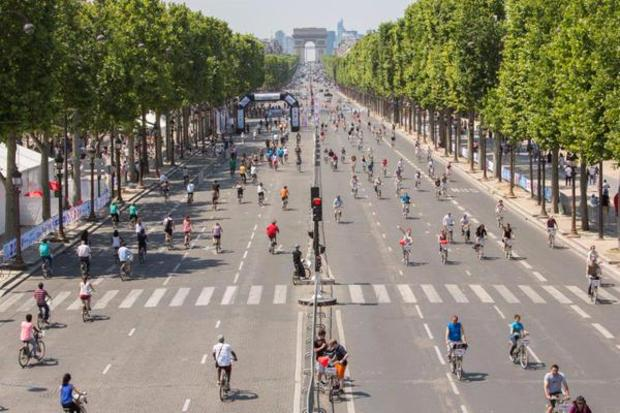 Paris is going car-free for a day