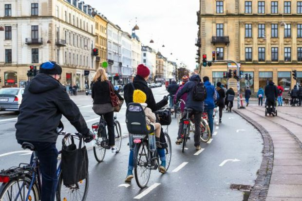 Copenhagen has more bikes than people