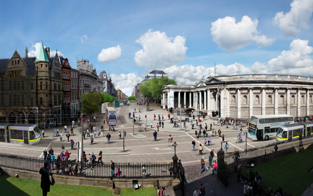 Dublin will one day be car-free