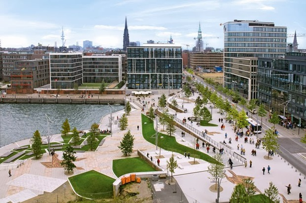 Hamburg's green network