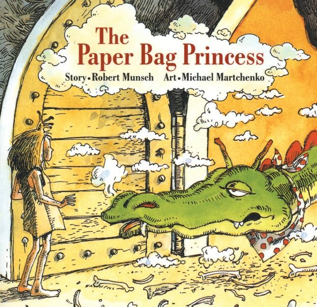 The Paper Bag Princess is a book that redefines gender roles