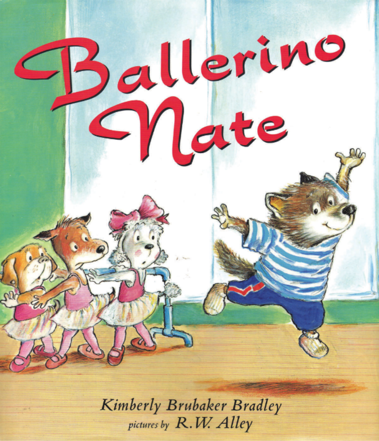 Ballerino Nate is a children's book that redefines gender roles