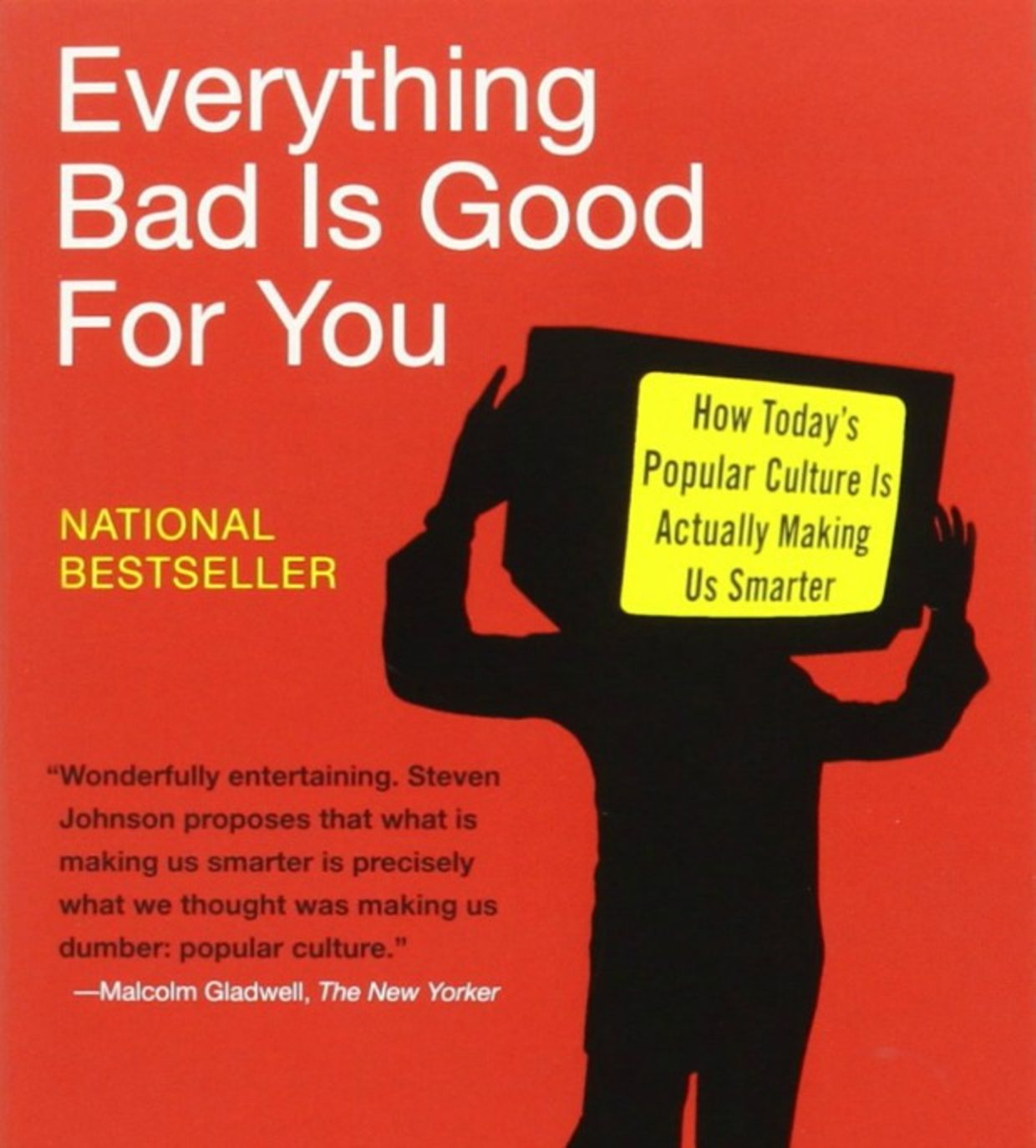 """the smarter generation in everything bad is good for you by steven johnson E-learning (2004), steven johnson's everything bad is good for you: how today's popular culture is actually making us smarter (2005), prensky's new book """"don't bother me, mom, i'm learning"""": how computer and video games are preparing your kids for 21st century success and how you can."""